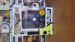 Bill Cipher Funko Pop Limited Chase Edition.