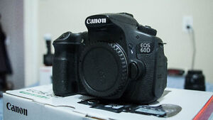 Canon 60D (with Battery Grip)