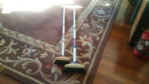 CURLING BROOMS