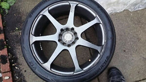 "17"" Motegi MR7 Rims (5x114)"