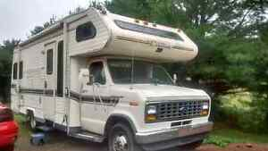 89 ford motor home