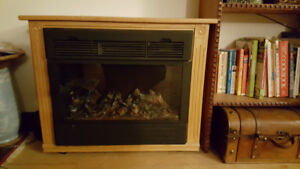 FIREPLACE - electric, Amish hand made