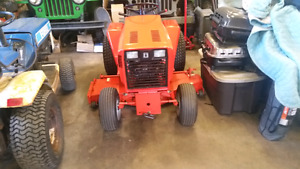 Ingersoll rand and ford lgt18h lawn tractors
