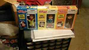Kellogg's Snap Crackle Pop figurines