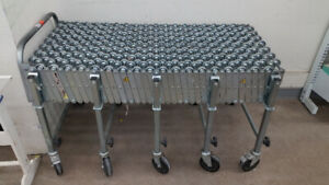 "NESTAFLEX CONVEYOR, 5 TO 16 FT LONG, 24"" WIDE, 226 LB/FT LOAD"