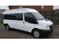2012 Ford Transit T350 2.2(135 BHP) factory 14-Seater mini bus