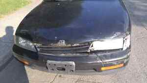 Honda accord 94 automatic front accidented new brakes n calipers