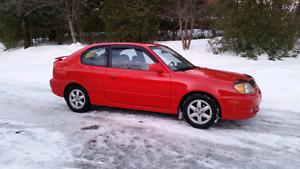 Hyundai accent gsi 2004