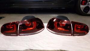 Golf MK6 OEM Euro Golf R Tail Lights GTI VW