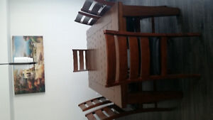 7 pcs dining table