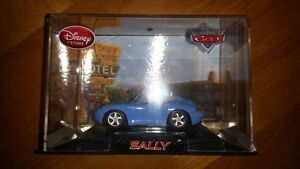 Disney Store Cars 2 Sally Diecast with Display