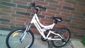 3 kids bikes.