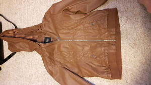 """Guess """"leather"""" jacket"""