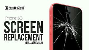 Réparation repair cellulaire iPhone 5 6 7 vitre iPad