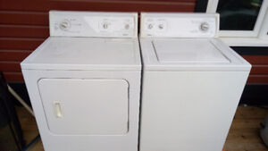 20 years old washer & dryer