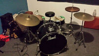 Pearl Drums 5 piece