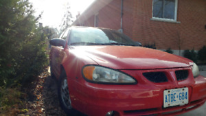 2004 Grand AM excellent condition as is $1700