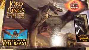 Lord of the rings..Fell Beast with ringwraith rider  Kitchener / Waterloo Kitchener Area image 1