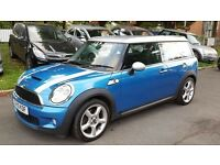 2010 MINI CLUBMAN COOPER S 1.6L SUPERCHARGED PETROL ESTATE ++HALF LEATHER++1 OWNER++2 KEYS++