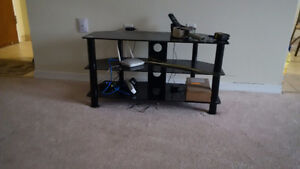 Dining table set and TV stand included.