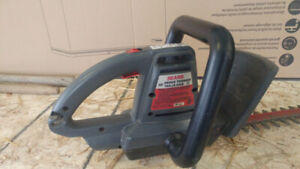 """Sears Mastercraft 20"""" hedge trimmer for sale"""