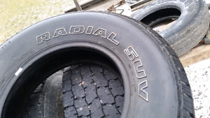 ONE ONLY! 235 75 R15 Cyclone Radial SUV