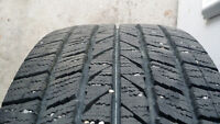 set of 4 winter tires in excellent condition