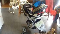 Safety First 3 in 1 stroller, carrier and car seat