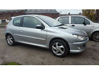Peugeot 206 1.6 2003 Quiksilver PX Swap Motorcycle Jet Ski Anything considered
