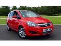 2014 Vauxhall Zafira 1.7 CDTi ecoFLEX Design Nav 7 Manual Diesel Estate