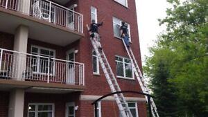 Lavage de vitres et Nettoyage de gouttières