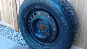 2 Nearly BRAND NEW 225/60R16 Winter tires. $175 or negotiable