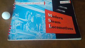 Modern Steam Locomotives 1945 Photographs of Trains