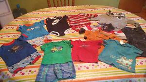 Lot de vêtements garçon 6-9 mois (14 morceaux, revient 0,42$)