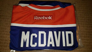 Connor McDavid Signed / Autographed Blue Edmonton Oilers Jersey Strathcona County Edmonton Area image 3