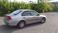 2001 Honda Civic DX-G Berline
