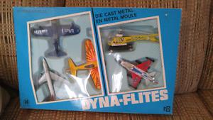 Vintage Diecast Dyna-Flites 5 pack set brand new in box.