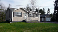2 Year Young Bungalow Double Car Garage - East Uniacke