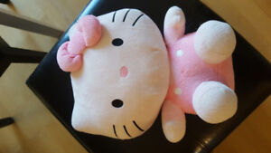 Big TY Hello Kitty Plush Beanie - Barely Used, Without Tags