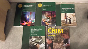 Mohawk College Paralegal Textbooks Semester 2
