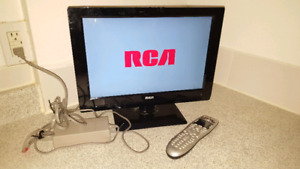 Rca 15 led tv hdmi with logitech universal harmony remote