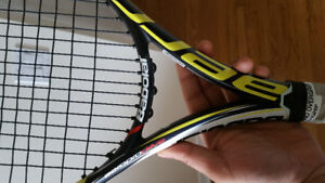 Babolat  aeropro drive tennis racquet/racket with rpm strings