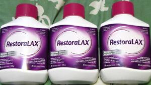 RestoraLAX, 3 x 510g Bottles + Extra