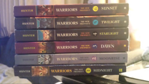 The New Prophecy Warriors Book Collection