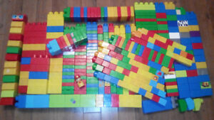 Mega bloks first builders building blocks huge lot
