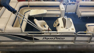 21' Pontoon Boat, Motor & Trailer