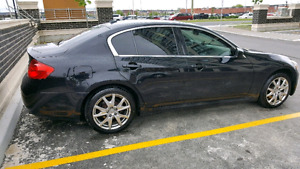 2009 Infiniti G37x S AWD Sport With Paddle Shifters