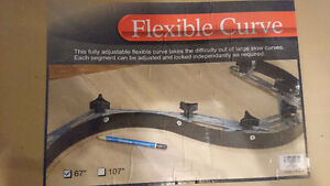 Brand new - Flexible Curve 67 inches