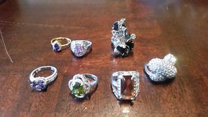 Rings/pendants/pins