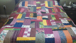 Patchwork Stippled Quilt St. John's Newfoundland image 1